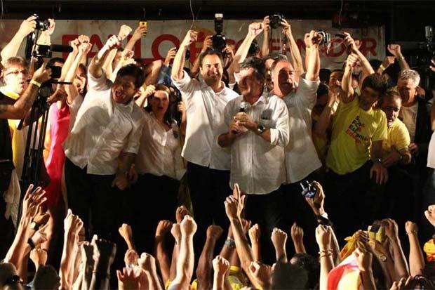 Paulo Câmara foi eleito com a maior votação percentual do país