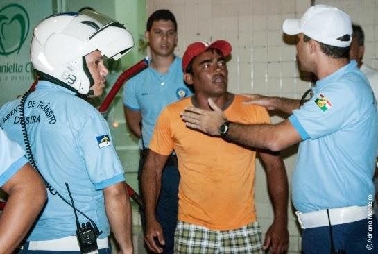 Caruaru – Agentes da Destra mostrando mais uma vez a falta de preparo profissional