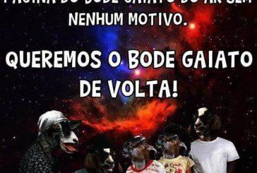Página do Bode Gaiato no Facebook é retirada do ar sem motivos
