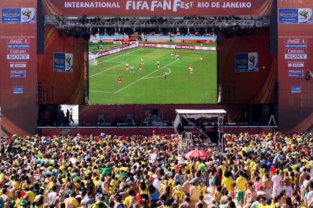Em disputa com Campina Grande, Caruaru ganha direito de transmitir jogo da seleção brasileira no Pátio do forró.