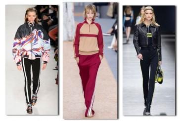 Trend alert! Conheça as calças esportivas hit das semanas de moda e que as famosas estão usando