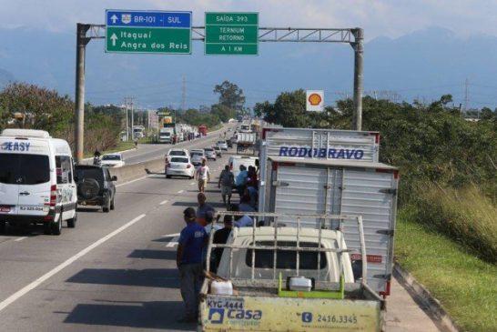 Caminhoneiros não vão para a greve dia 28-05