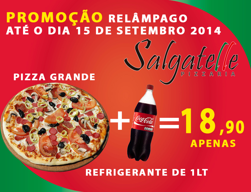 pizzaria faz promoção relâmpago em Caruaru!